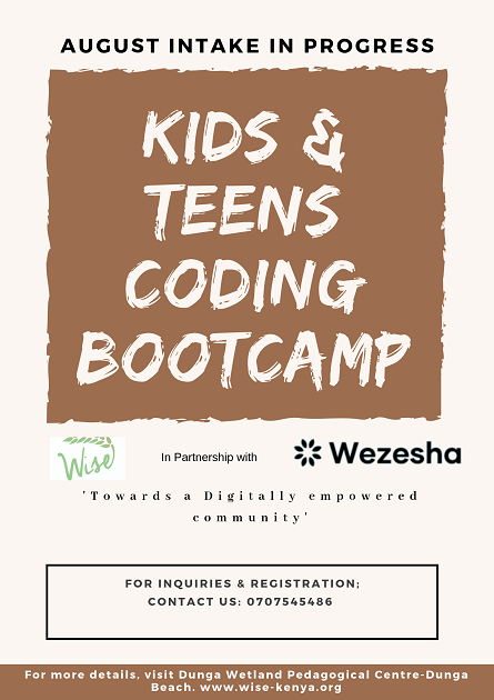 STEM | WISE Kids & Teens Coding Bootcamp